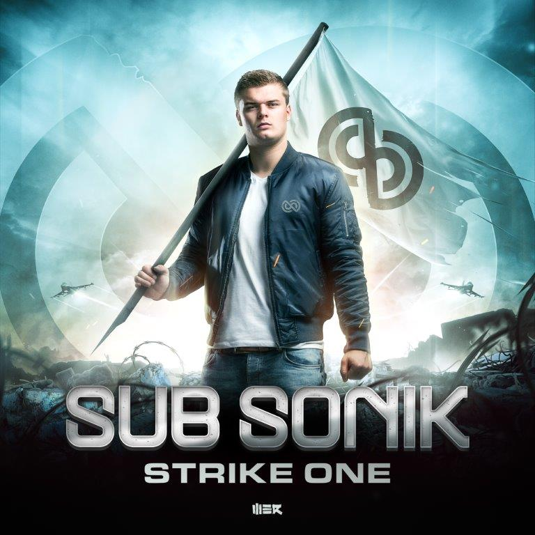 WERCD006 Sub Sonik   Strike One  cover 3000x