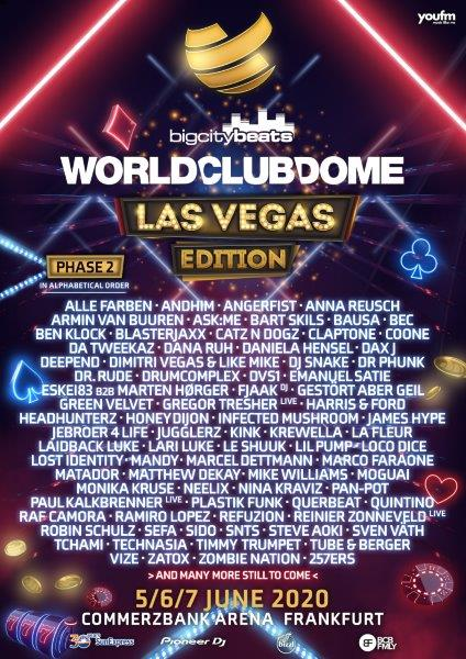 BCB WCD Las Vegas Edition Poster Lineup Phase2