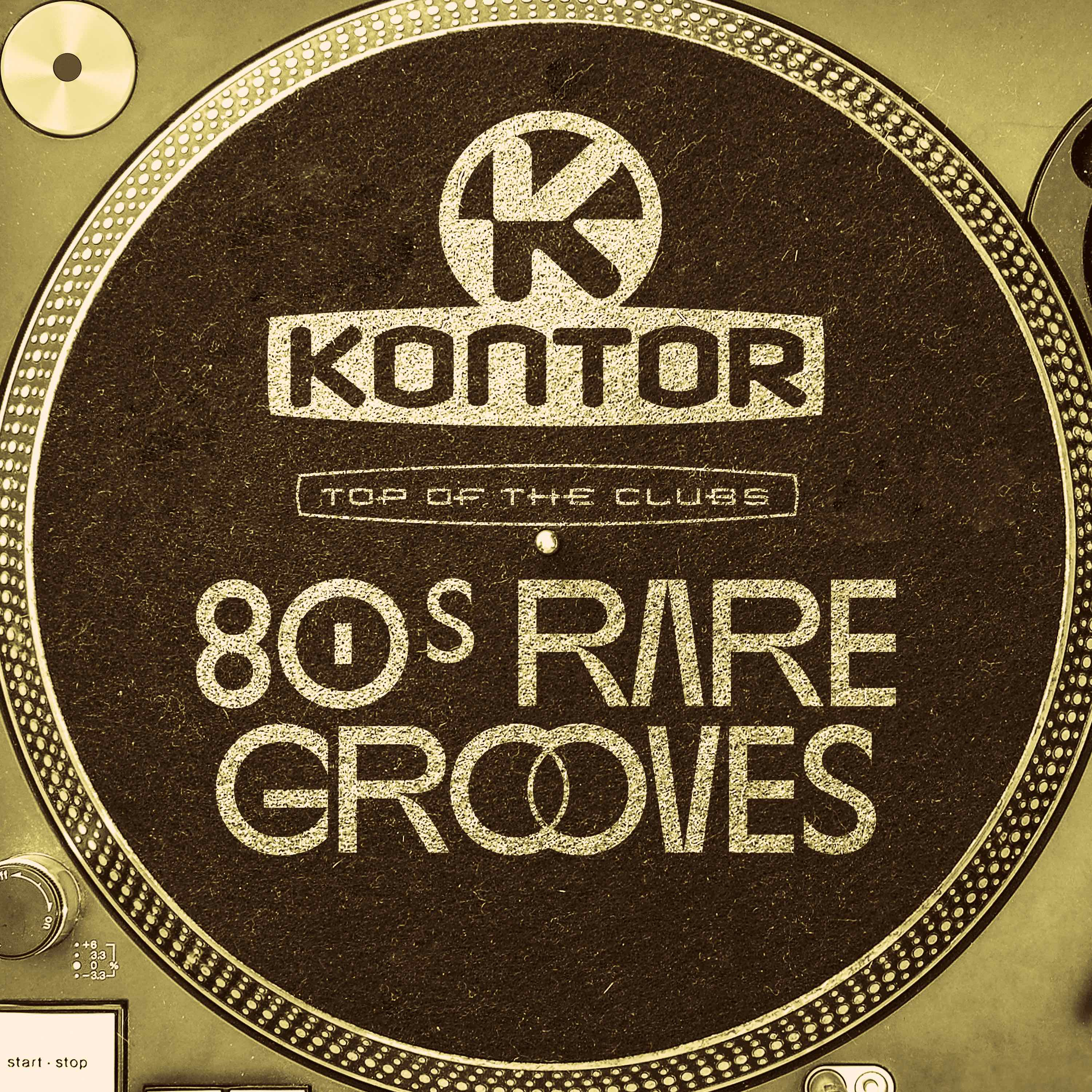 Cover neu Kontor Top Of The Clubs   80s Rare Grooves All Time Favourites RGB