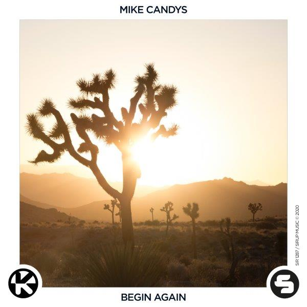 Cover Mike Candys   Begin Again