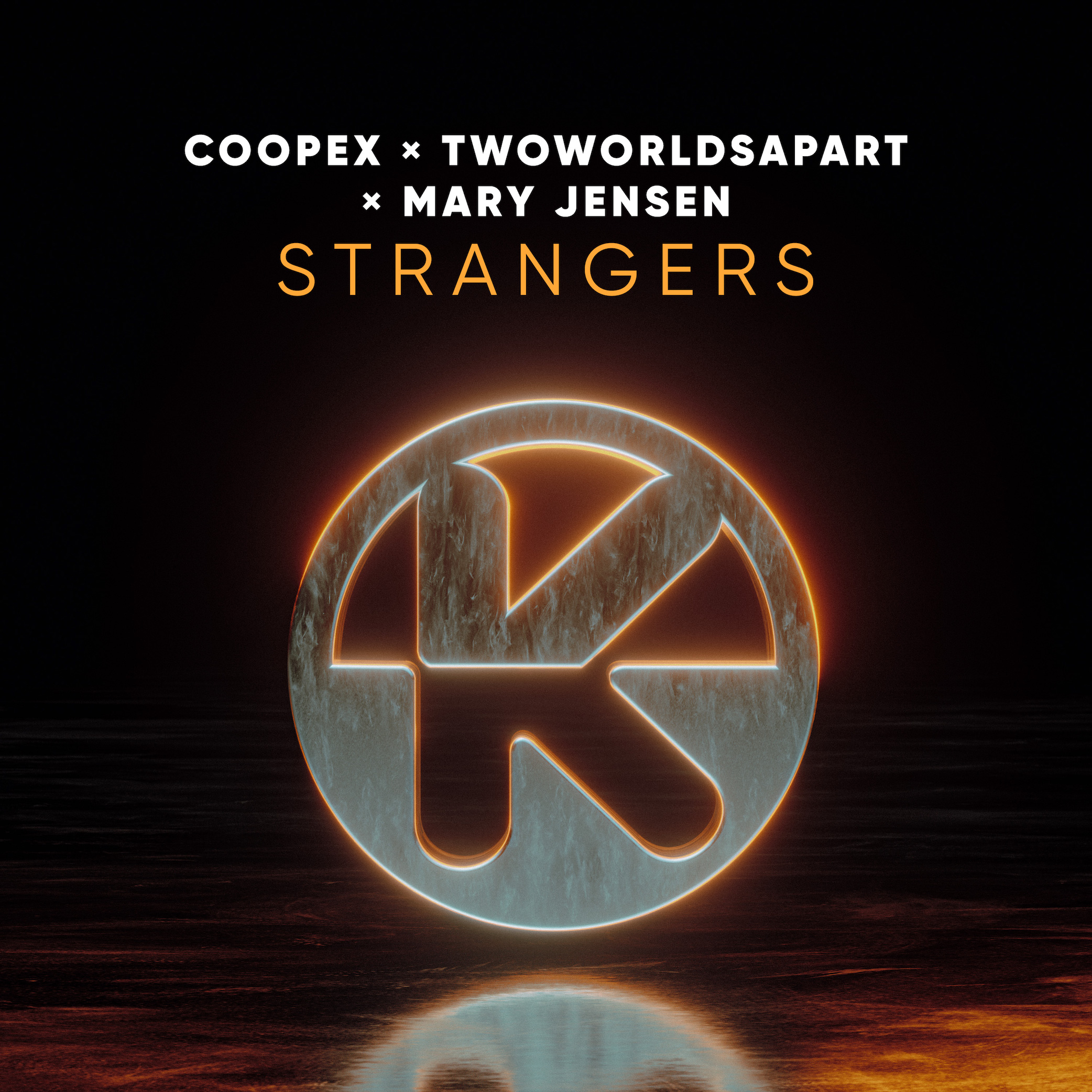Cover Coopex TwoWorldsApart  Mary Jensen   Strangers